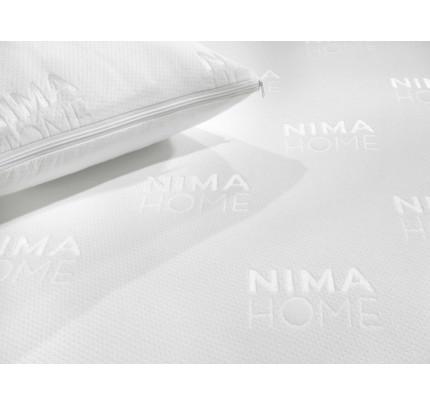 Κάλυμμα Μαξιλαριών (Ζεύγος) Αδιάβροχο 50x70 Abbraccio - Nima Jacquard