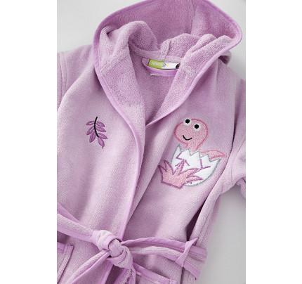 Μπουρνούζι Nima - No 2 Nima - Baby Roar Lilac