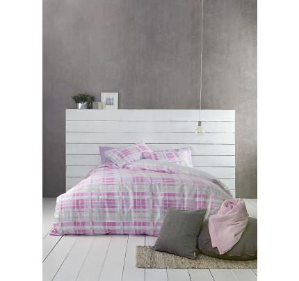 Σεντόνια Υπέρδιπλα (Σετ) Nima - Melville Pink