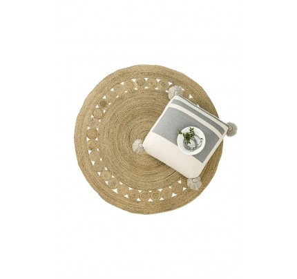 Χαλάκι Στρογγυλό R150 Nima - Makrame