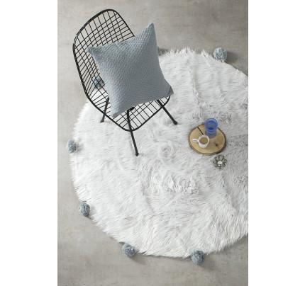 Στρογγυλό Χαλί R150 Nima - Fluffy Gray