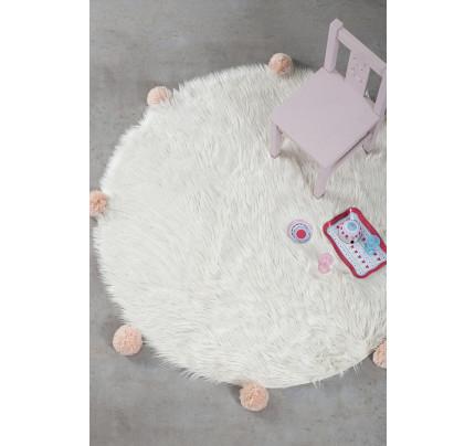 Στρογγυλό Χαλί R150 Nima - Fluffy Taupe