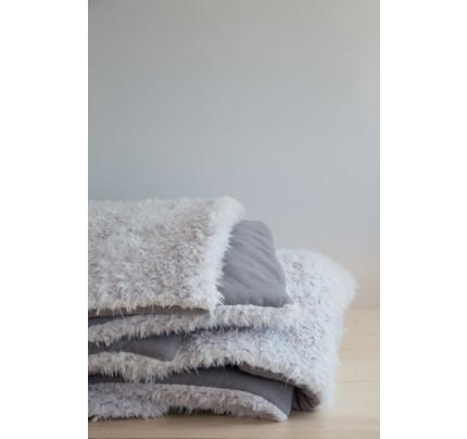Κουβερτοπάπλωμα 220x240 Nima - Smooth Gray