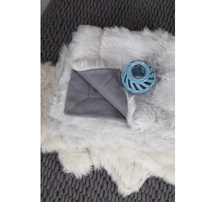 Κουβέρτα 100x150 Nima - Velvet Gray