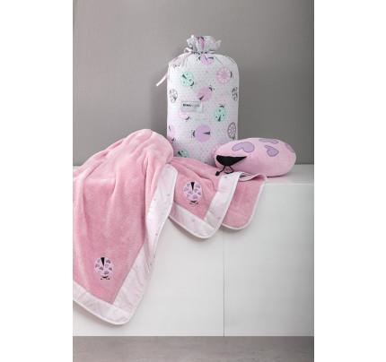 Κουβέρτα Λίκνου Fleece 80x110 Nima - Lovebug