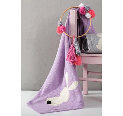 Κουβέρτα 75x110 Nima - Honey Bunny Lilac