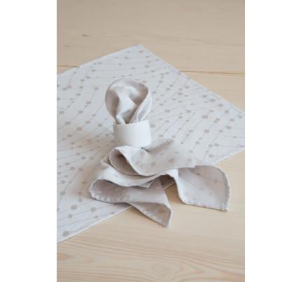 Σετ Πετσέτες (4 x 42x42) - Nima Allure Ivory