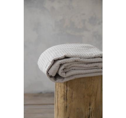 Κουβέρτα Πικέ Μονή 160x240 Habit - Nima Sunny Beige