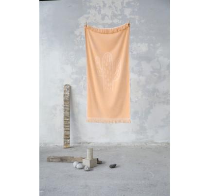 Πετσέτα Θαλάσσης 70x140 - Nima Cactil Salmon
