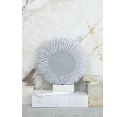 Διακοσμητικό Μαξιλάρι Φ.45 - Nima Velluto Gray