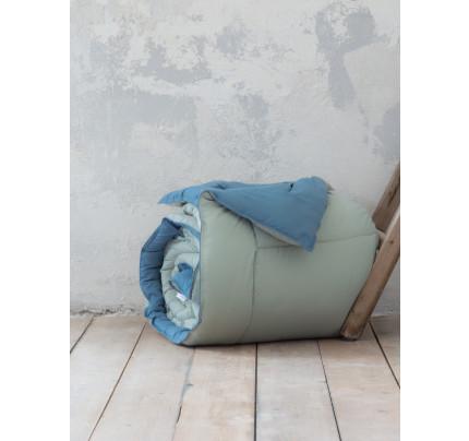 Πάπλωμα Μονό 160x240 Nima Abalone Mint / Blue