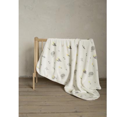 Κουβέρτα Βελουτέ Κούνιας 110x140 Nima Riccio