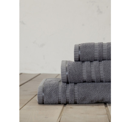 Πετσέτα Χεριών 30x50 Nima Canali Gray