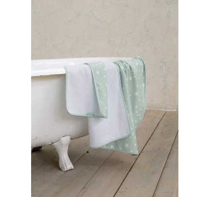 Βρεφικές Πετσέτες (Σετ 2 Τμχ) Nima Giggle Mint
