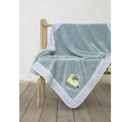 Κουβέρτα Fleece Κούνιας 110x140 Nima Baby Express