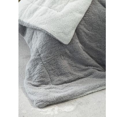Κουβερτοπάπλωμα Μονό 150x220 Nima Melt Light Gray/Dark Gray