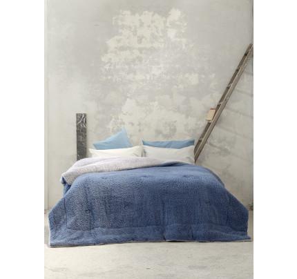 Κουβερτοπάπλωμα Μονό 150x220 Nima Melt Grey/Blue