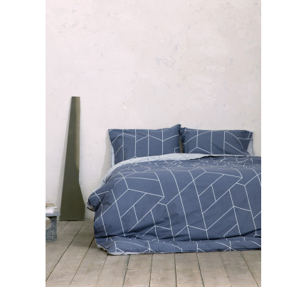 Σεντόνια Υπέρδιπλα (Σετ) 240x260 Nima Parity Blue