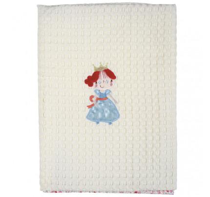 Κουβέρτα Πικέ Αγκαλιάς 80x110 Das Home Dream Embroidery 6511 Ροζ