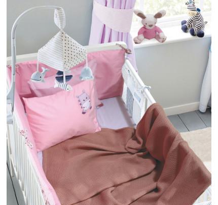 Κουβέρτα Πικέ Αγκαλιάς 80x110 Das Home Relax 6544 Σομον