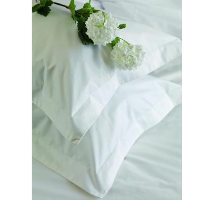 Σεντόνι Περκάλι (Μεμωνομένο) Ημίδιπλο 180x270 White Plain Palamaiki White Comfort