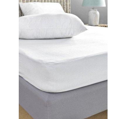 Αδιάβροχο Κάλυμμα Στρώματος Μονό 100x200 Jaquard Waterproof Palamaiki White Comfort