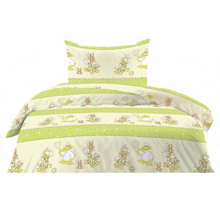 Πάπλωμα 100% βαμβάκι Cotton Feelings 8482 green
