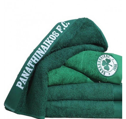 Πετσέτα Προσώπου (50x100) Palamaiki Official Team Licenced Panathinaikos Green
