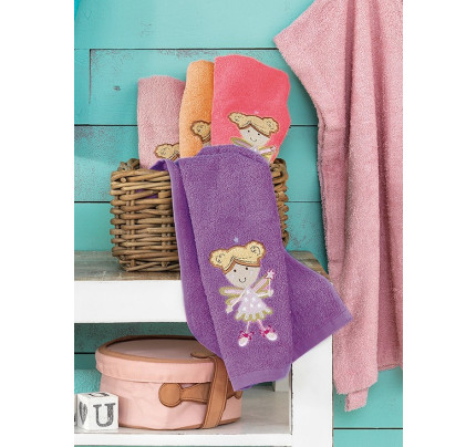 Πετσέτες Βρεφικές (Σετ 4 Τμχ) 40x60 Lulu/2 Palamaiki Pearl Young