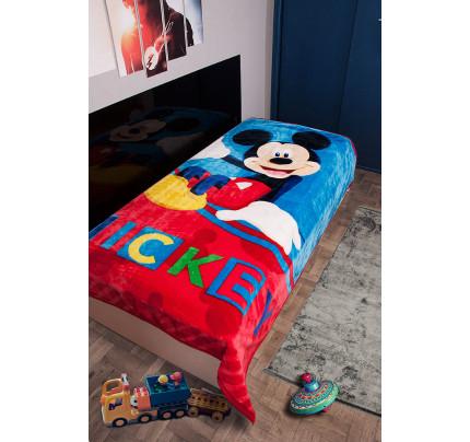 Παιδική Κουβέρτα Βελουτέ Disney 160x220 MICKEY 561 Digital Print