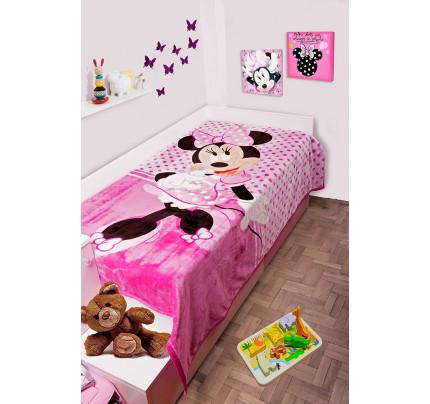 Παιδική Κουβέρτα Βελουτέ Disney 160x220 MINNIE 551 Digital Print
