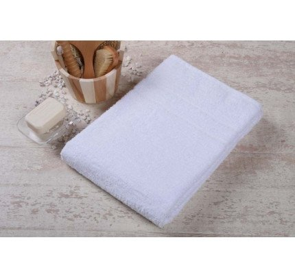 Πετσέτα 70x140 500 Γραμ Ριγέ Μπορντούρα Λευκή Πενιε100% Βαμβάκι