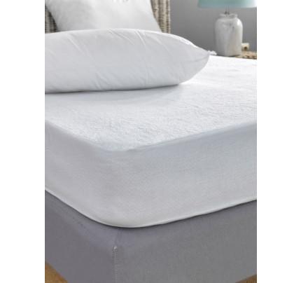 Αδιάβροχο Επίστρωμα Ημίδιπλο 110x200 Palamaiki White Comfort Jersey Waterproof