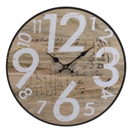 Ρολόι Τοίχου Inart 3-20-977-0259