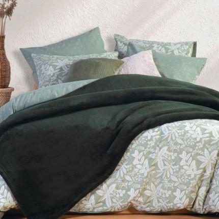 Κουβέρτα Fleece Υπέρδιπλη 240X220 Nef Nef Nasty Green