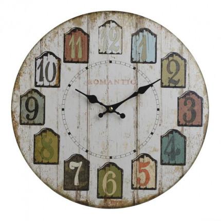 Ρολόι Τοίχου Inart 3-20-977-0255