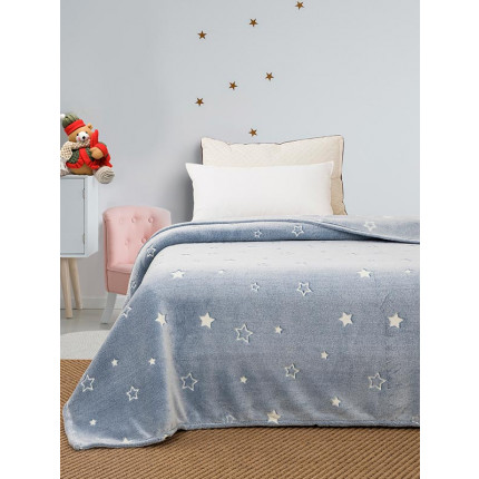 Κουβέρτα Fleece Μονή 160X220 Sunshine 02 Stars