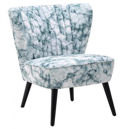 Υφασμάτινη Καρέκλα Inart 3-50-923-0011