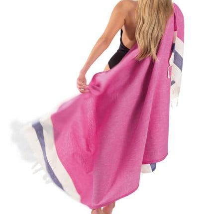 Πετσέτα Θαλάσσης 90x170 Guy Laroche Παρεο 11 Pinky