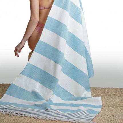 Πετσέτα Θαλάσσης 90x170 Guy Laroche Παρεο 12 Blue