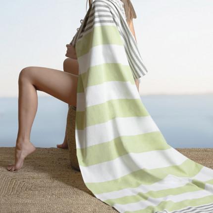 Πετσέτα Θαλάσσης 90x170 Guy Laroche Παρεο 12 Lime
