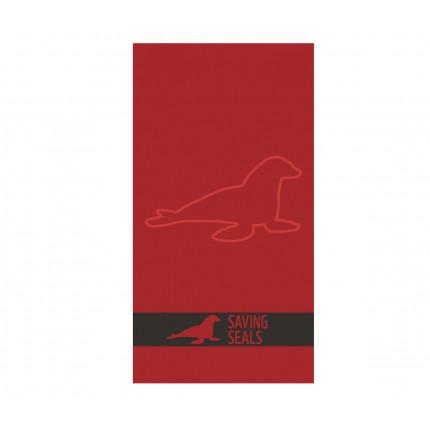 Πετσέτα Θαλάσσης 80x160 Nef Nef Ζακαρ Wwf Κόκκινο