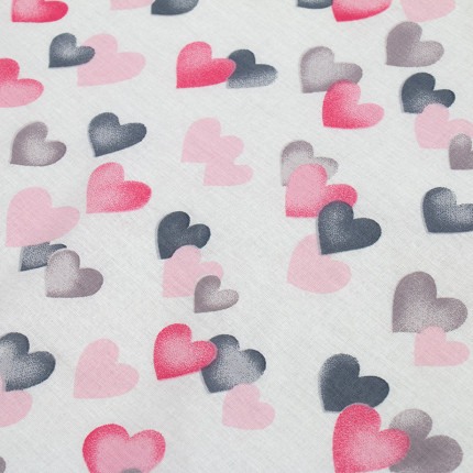 Πάνα 80X80 Dimcol Hearts 12