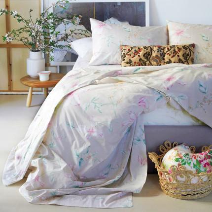 Παπλωματοθήκη Μεμονωμένη Διπλή 200X245 Melinen Vogue Beige