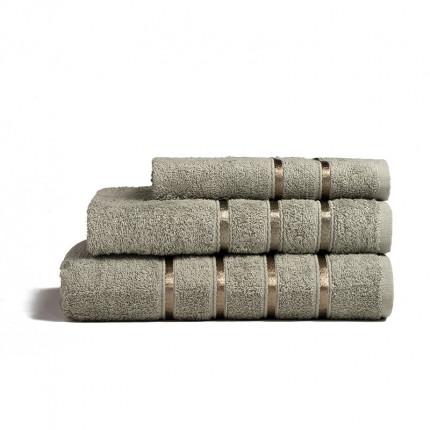 Πετσέτες Μπάνιου (Σετ 3 Τμχ) Melinen Visco Olive