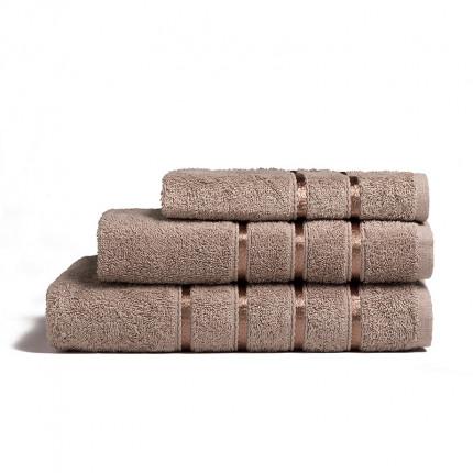 Πετσέτες Μπάνιου (Σετ 3 Τμχ) Melinen Visco Cigar