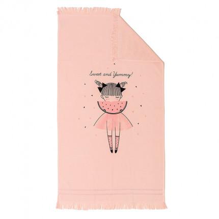 Πετσέτα Θαλάσσης 70X120 Melinen Watermellow Pink