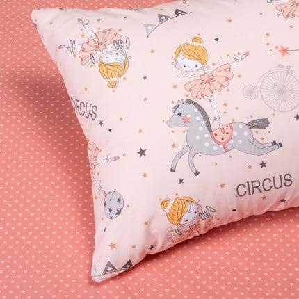 Μαξιλαροθήκες Ζεύγος 50X70 Melinen Circus Girl Pink