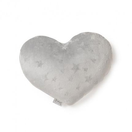 Διακοσμητικό Μαξιλάρι 45X45 Melinen Starito Heart Silver