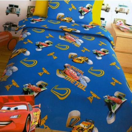Σεντόνια Μονά (Σετ) Disney Cars Blue